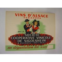 Vins d'Alsace Sigolsheim...