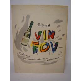 Médieval Vin Fou  carton