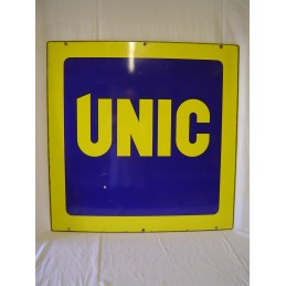 Plaque Emaillèe UNIC Double...