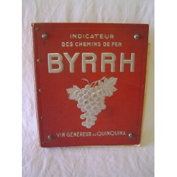 Indicateur Byrrh et Chaix...