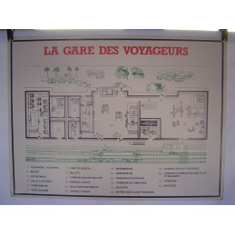 La Gare des Voyageurs...
