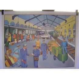 La Gare Les Quais recto Sur...