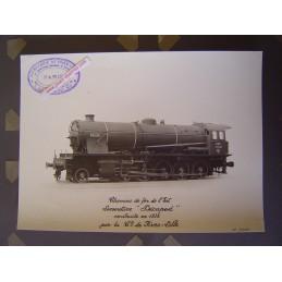 Locomotive à Vapeur EST...