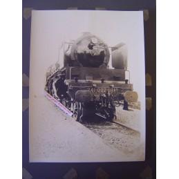 Locomotive à Vapeur 241-002...