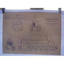 Plan Locomotive à Vapeur...