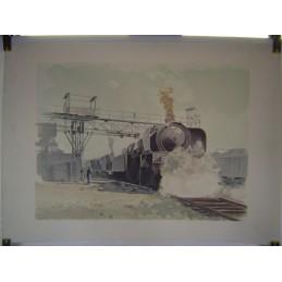 Dessin Locomotive à Vapeur...