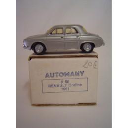 Renault Ondine 1961...