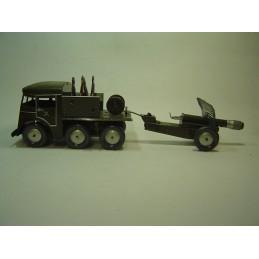 Camion Militaire avec Canon