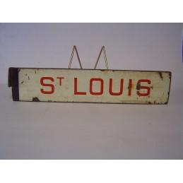 Saint LOUIS Plaque de...