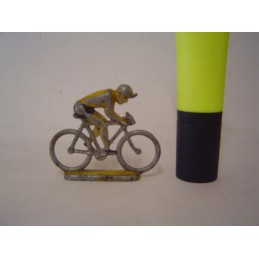 Cycliste Assis Guidon Plat