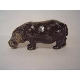 Hippopotame plomb creux