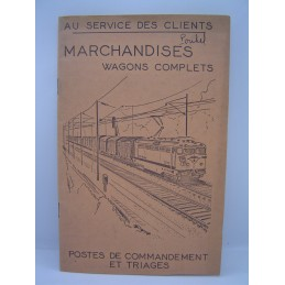SNCF Marchandises Wagons...