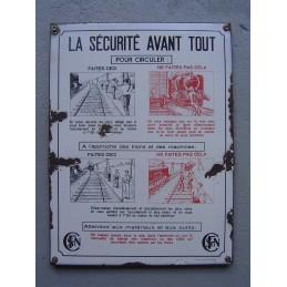 SNCF La Sécurité Avant Tout...
