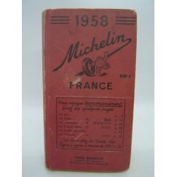 Michelin Guide France 1958