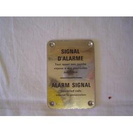 Signal d'Alarme Alarm Signal