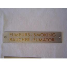 Fumeurs en 4 Langues