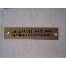 Chauffage en 4 Langues